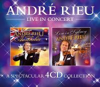 Cover André Rieu - Live In Concert [4CD Collection]
